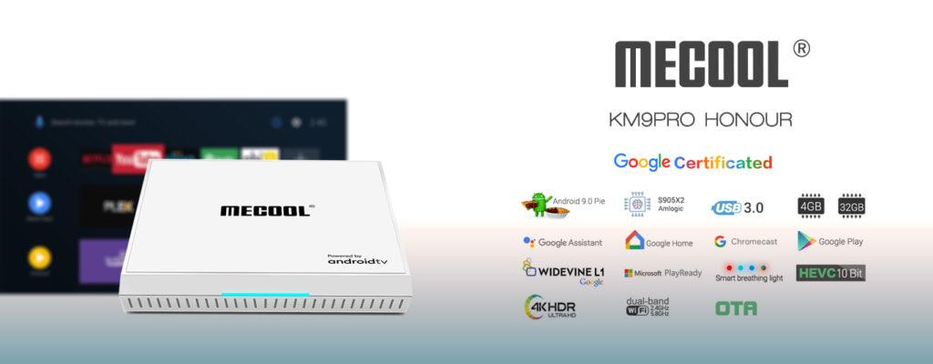La KM9PRO HONOUR con Android 9.0 Pie 4GB RAM y 32GB ROM